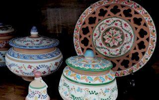 ceramiche deruta nel negozio di cesano marina a torino