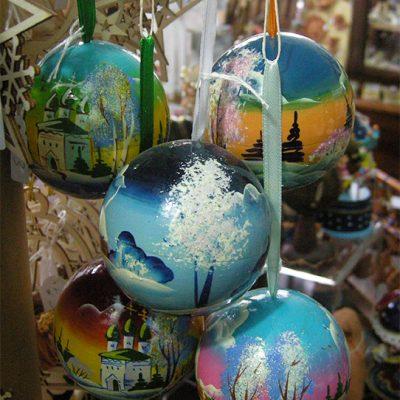 palla di natale per l'albero di natale