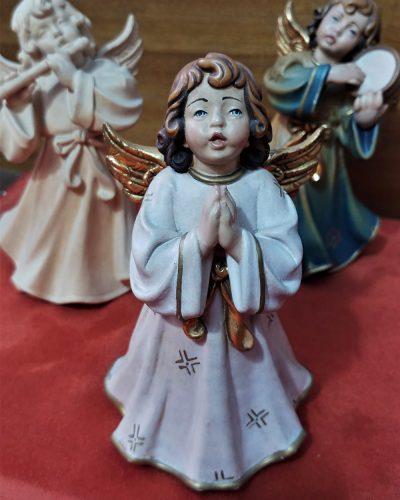 angeli in legno artigianato da cesano idee regalo torino
