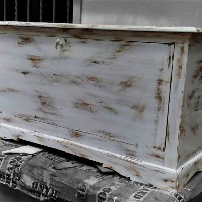 baule shabby restaurato da cesano idee regalo torino restauri legno