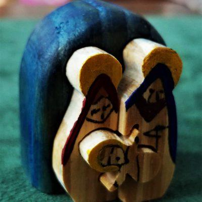 mini presepe decorato a mano da cesano idee regalo