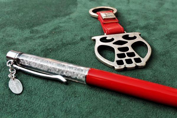 Penna e gufo fantin, idee per bomboniere e pensieri in argento